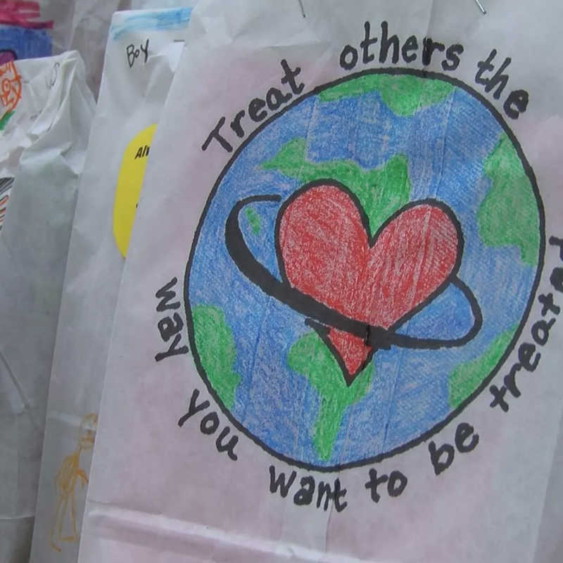 Oklahoma school sends special delivery to Baton Rouge